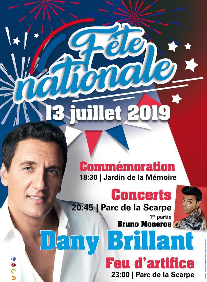 F te nationale 13 juillet 2019 ville de saint amand les eaux - Piscine saint amand les eaux horaires ...