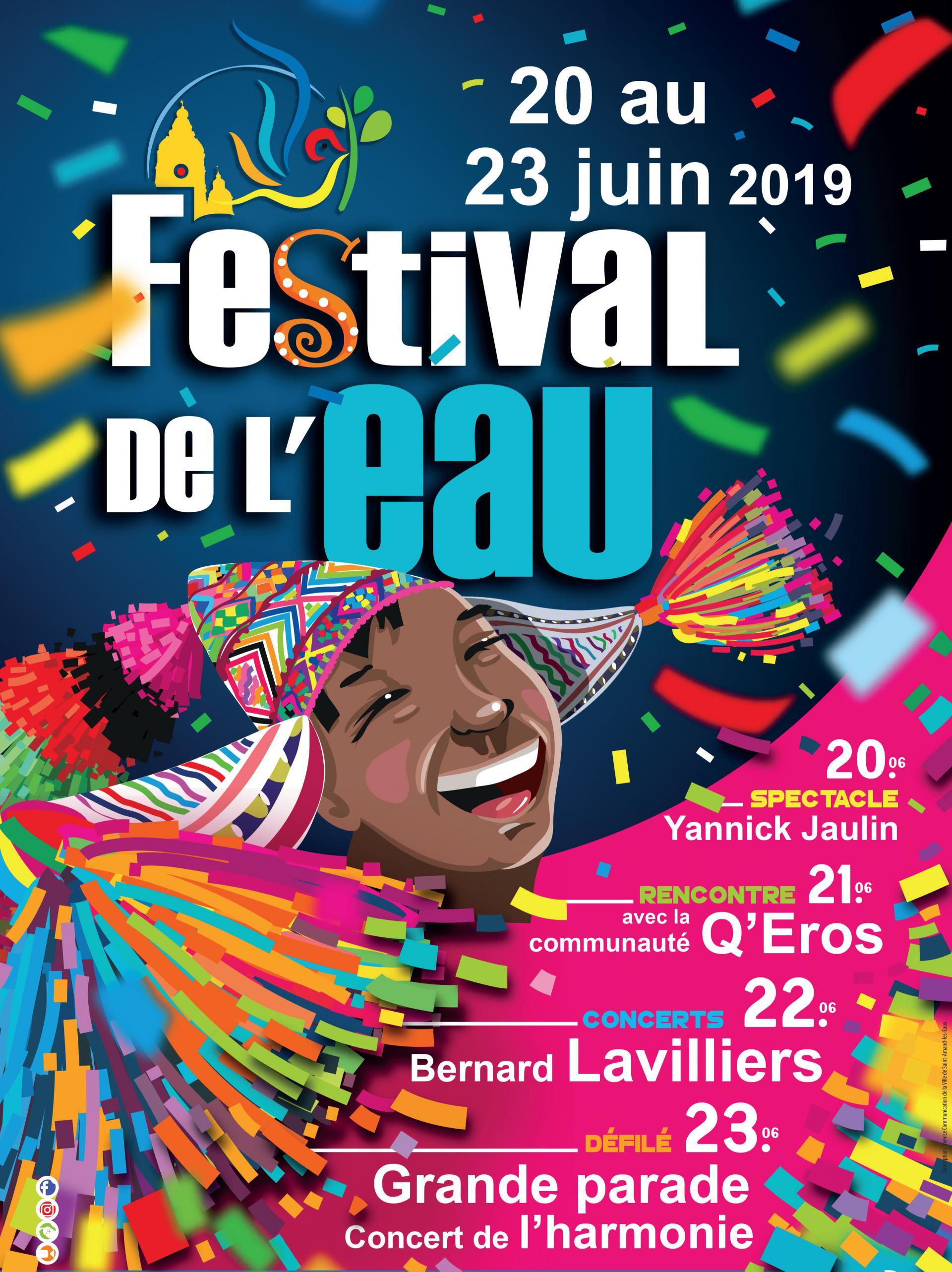 Festival de l 39 eau 2019 ville de saint amand les eaux - Piscine saint amand les eaux horaires ...